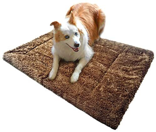 Pet fmissing Deluxe Dog Beds for Medium Dogs,in The Dog's Cage is The Dog's Crate Mat, in The Dog's Nest is The Kennel Pad, It's a Dog Cot by Itself,Easy to, Washable