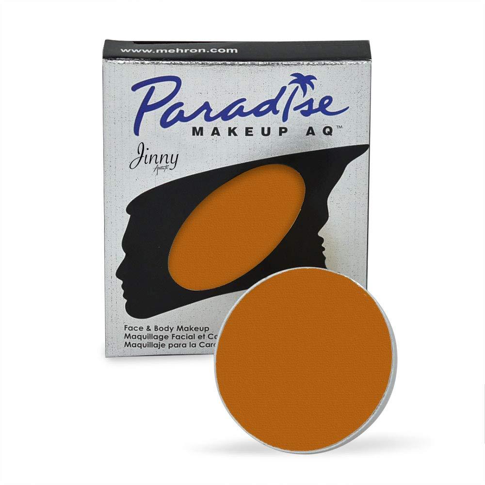 Mehron Makeup Paradise Makeup AQ Refill (.25 oz) (LIGHT BROWN)
