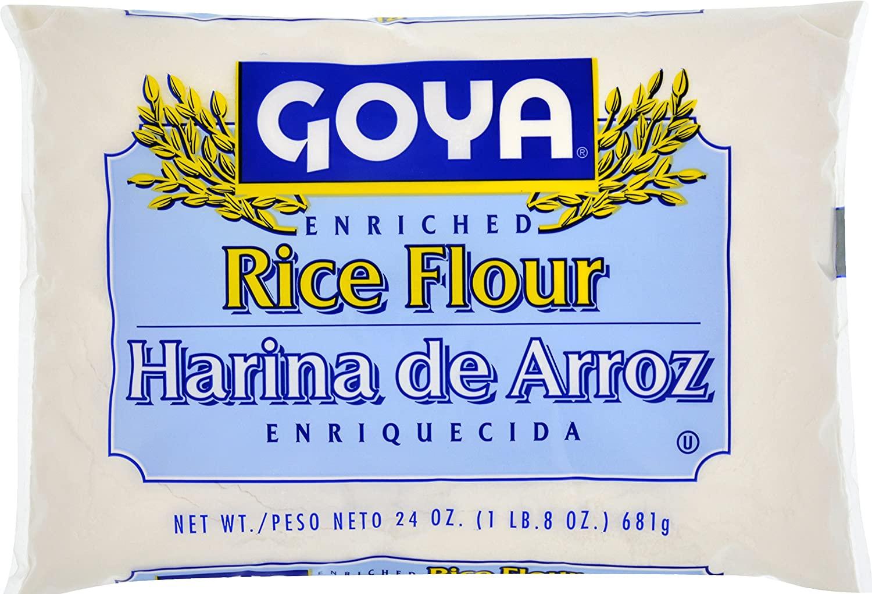 Goya Rice Flour, Enriched, 24 Ounce