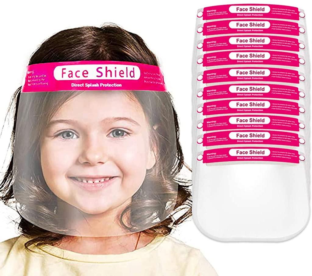Child Shield Face_mask Kitchen Oil Splash Anti-Smoke Safely Facemask