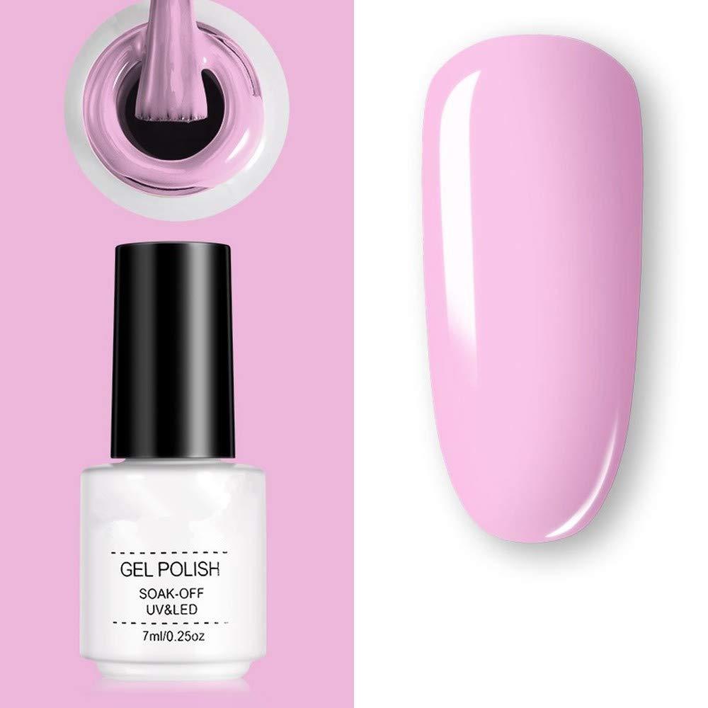 Nail polish semi-permanent mixed varnish gel oil color gel manicure primer topcoat flash nail polish (11)