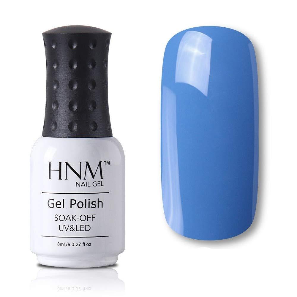 Blue red pink green yellow gel nail polish semi-permanent varnish base primer (blue 626)