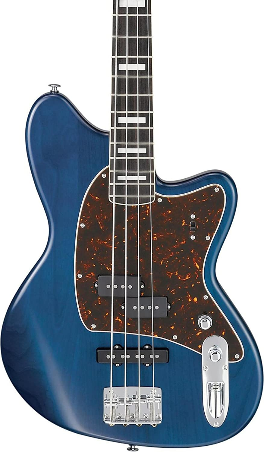 Ibanez TMB2000 Talman Prestige Electric Bass Guitar Blue Zilcon