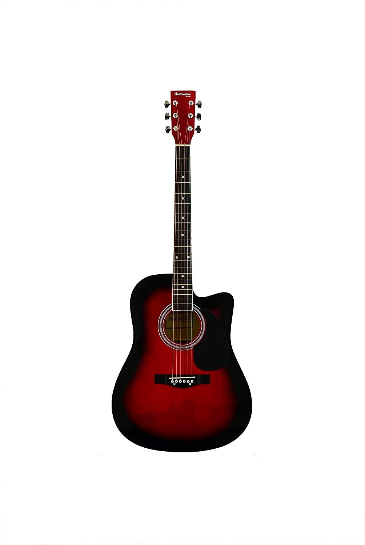 Huntington GA41C-RDS Acoustic Cutaway Guitar 41-Inch , Red Sunburst
