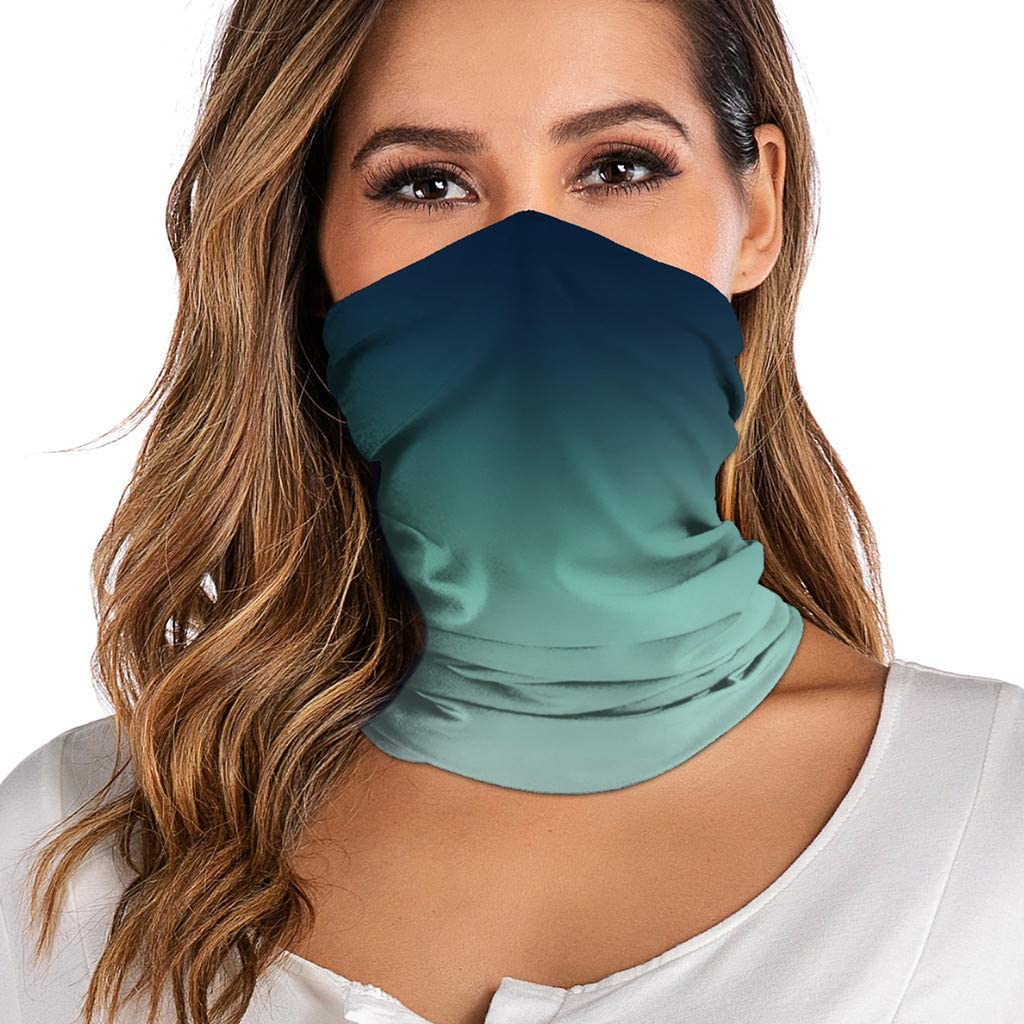 1PCS Reusable Breathable Funny Printed Bandana Fashion Adults Washable Neck Windproof Mouth Safety Cloth Face_Mask Scarf