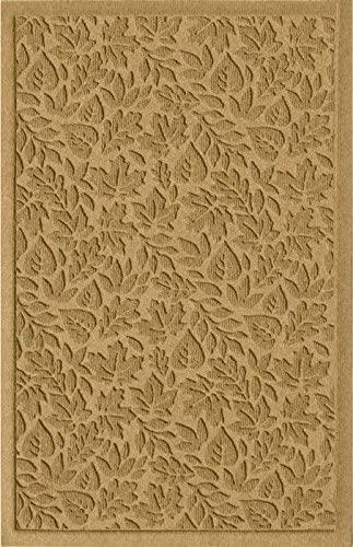 American Floor Mats Waterhog Fall Day Designer Gold 2' x 5' Entrance Floor Mat with Gripper Backing