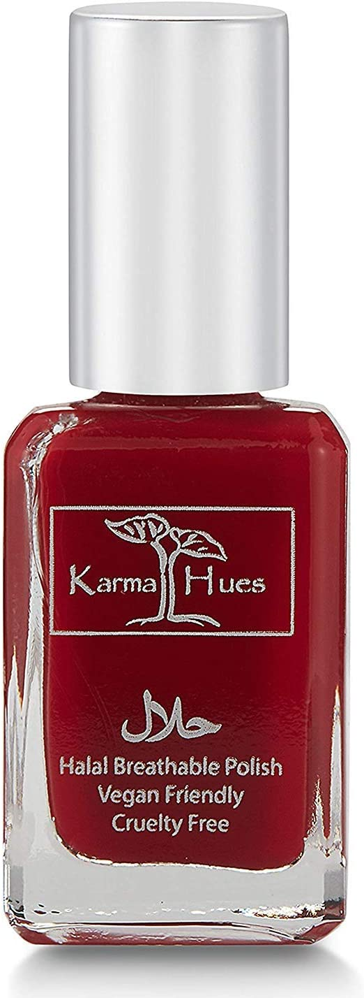 Karma Halal Certified Nail Polish- Truly Breathable Cruelty Free and Vegan - Oxygen Permeable Wudu Friendly Nail Enamel (SARAH)