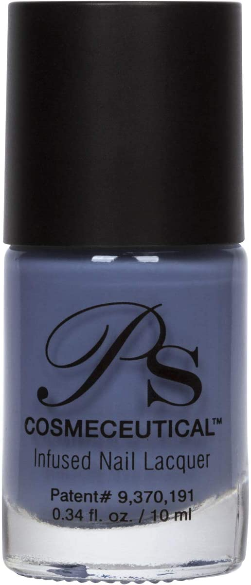 PS Polish All Natural Nail Polish, Fall Collection Non-Toxic Professional Grade Nail Art and Polish Nail Lacquer, Beige Nail Polishes for Manicure, Pedicure, Hands (Periwinkle)