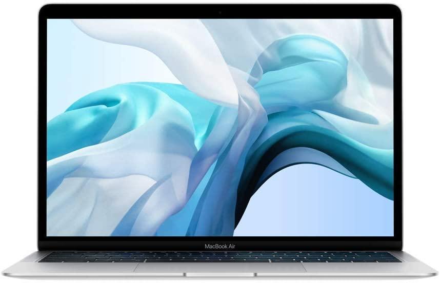 Apple MacBook Air (13-inch Retina display, 1.6GHz dual-core Intel Core i5, 256GB) - Silver (Latest Model) (Renewed)