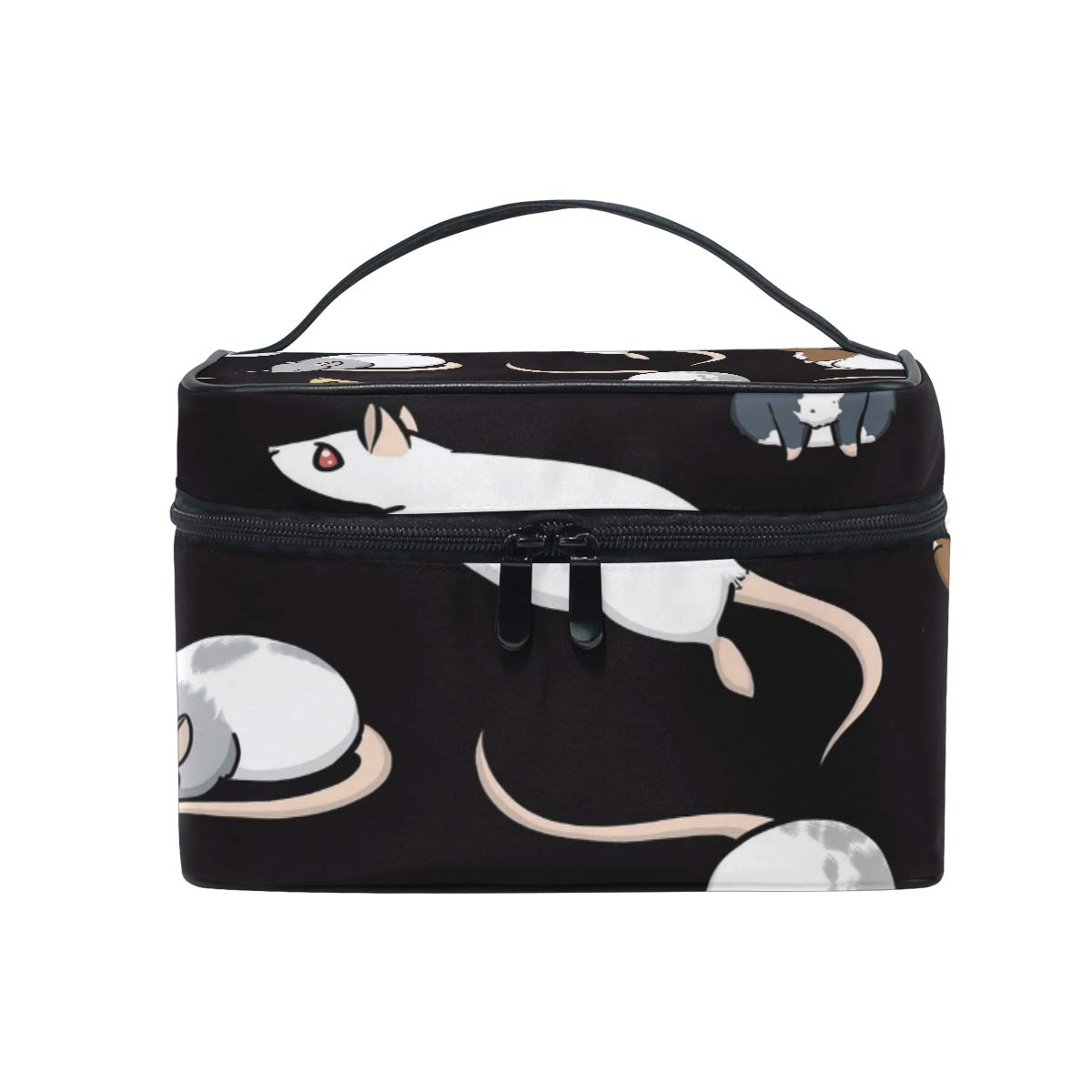 Travel Cosmetic Bag Mouse Rat Toiletry Makeup Bag Pouch Tote Case Organizer Storage For Women Girls