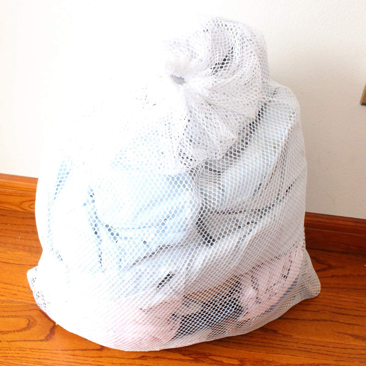 DERCLIVE Mesh Laundry Bag Dirty Clothes Storage Bag (6090)