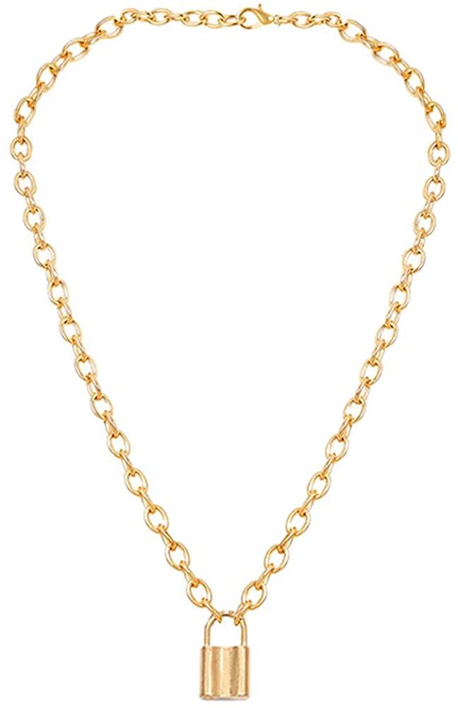 HaHaGirl Long Chain Pendant Necklace for Women
