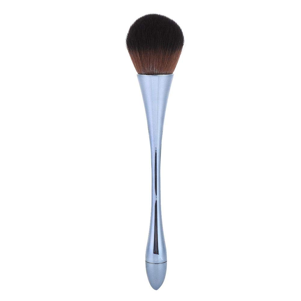 Nail Art Dust Brush - Cleaning Nail Dust Brush Nail Art Dust Powder Removal Brushes Manicure Tool 2 Colors(Blue)