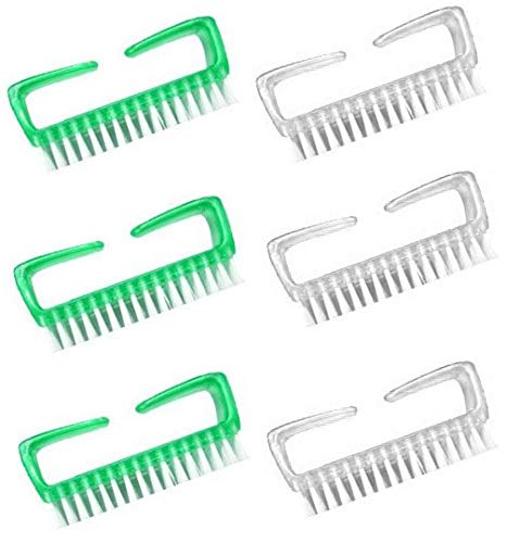 Aquasentials Easy Hold Nail Brush (6 Pack)