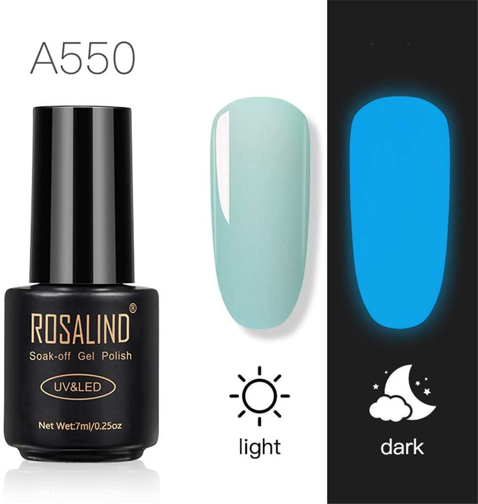 Gel Nail, Nail Art Design/Lamp Luminous Nail Polish, Black Bottle Luminous Glue Nail Special Luminous New