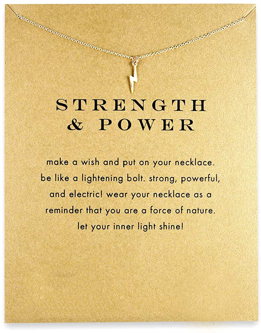 QXFQJT Tree Mountain Necklace Friendship Sisters Elephant Good Luck Pendant Necklace with Meaning Card