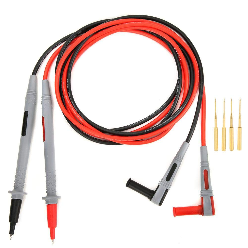 Test Leads Set,P1505B 1000V/10A 150cm Multimeter Test Lead Probe with Incisive Needle Electrical Test Kit for Digital Multimeter