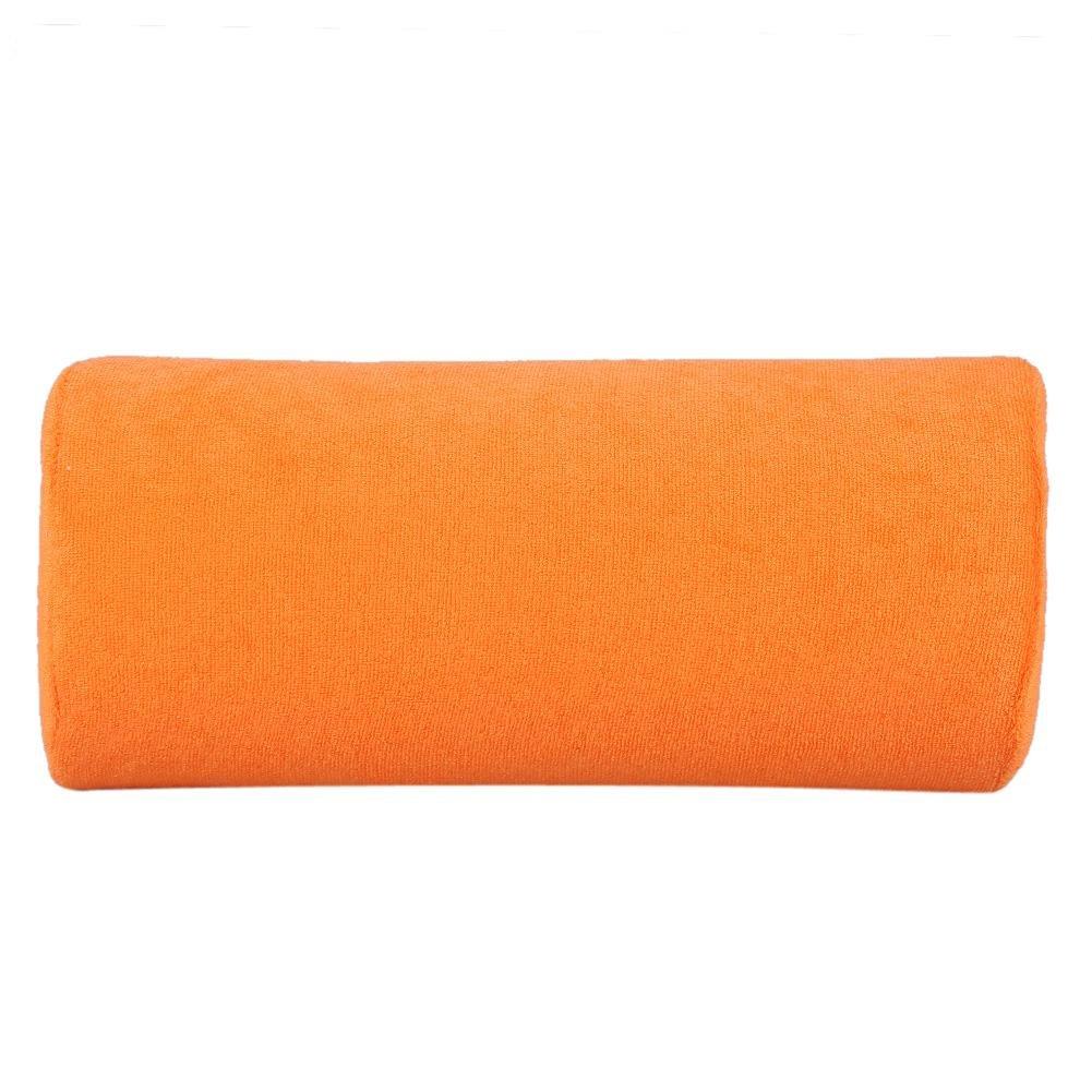 Hand Cushion, 10 Colors Soft Sponge Pillow sponge material comfort for nail treatment and manicure(Orange)