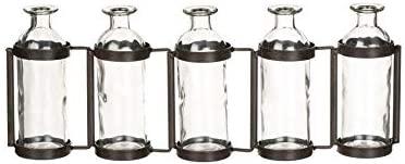 Five Bottle Vase Glass