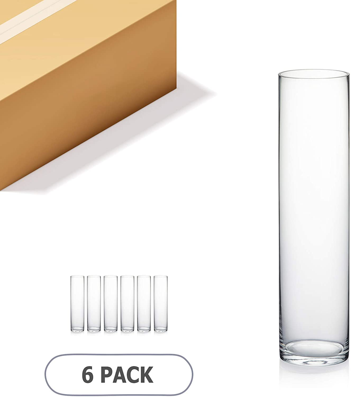 WGV Cylinder Vase Bulk, 4