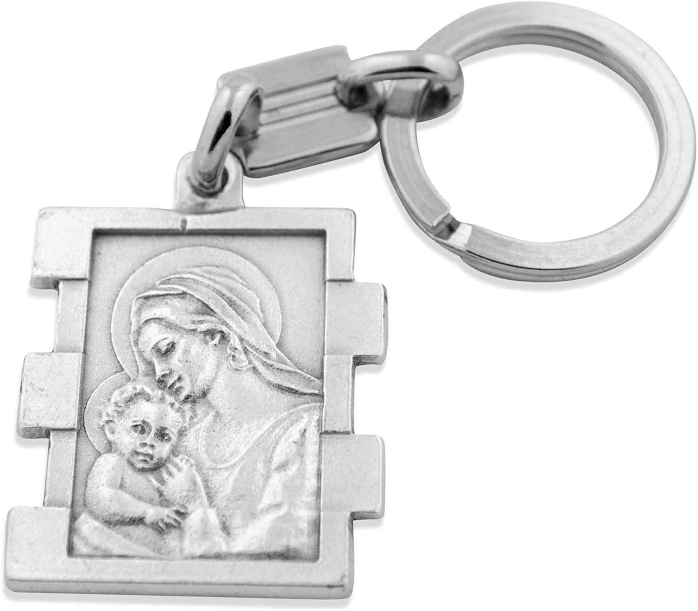Venerare Catholic Keychain (Madonna and Child)