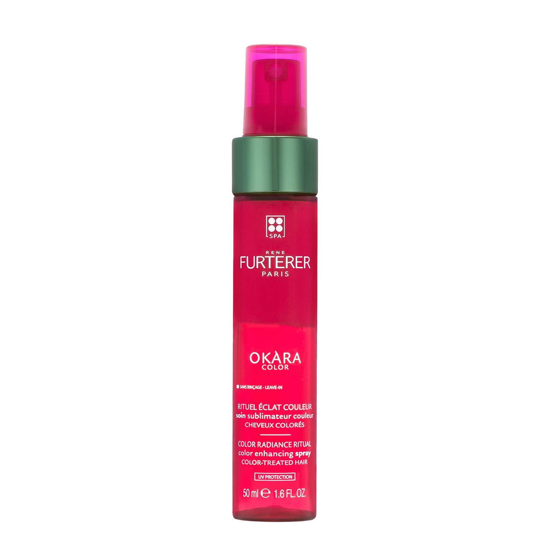 Rene Furterer OKARA Color Protection Spray, Safe for Color-Treated Hair, Bi-Phase, Sulfate Free, Paraben Free