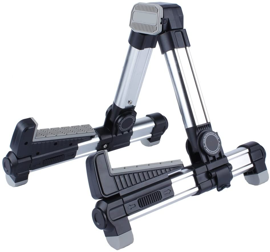 Alumium Alloy A Frame Ukulele Stand, Also Suitable for Small Acoustic Guitar, Banjo, Mandolin