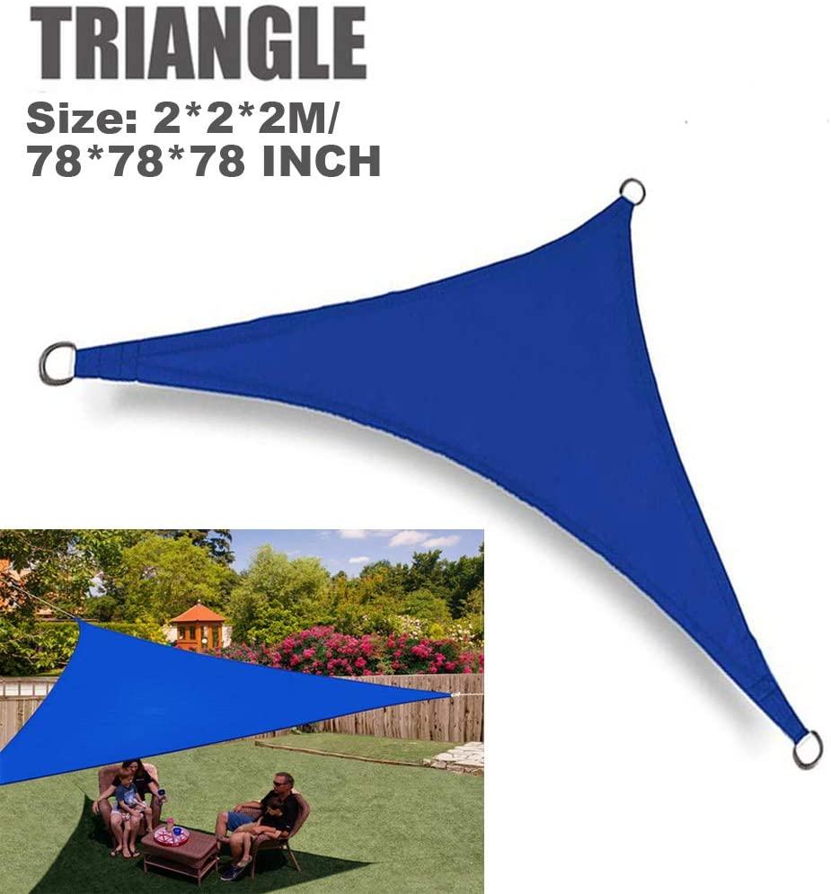 SMYH Triangle Sun Shade Sail 6'7