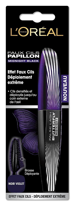 L'Oreal Mascara - Faux Cils Papillon - Noir Violet