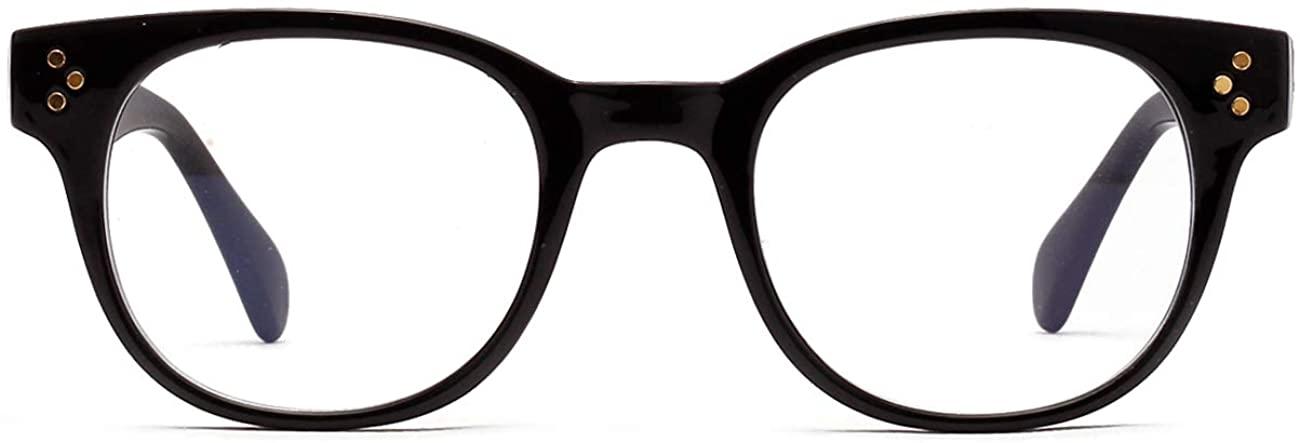 Blue Light Blocking Glasses Men Women Vintage Anti Eyestrain Computer Gamer Eyeglasses