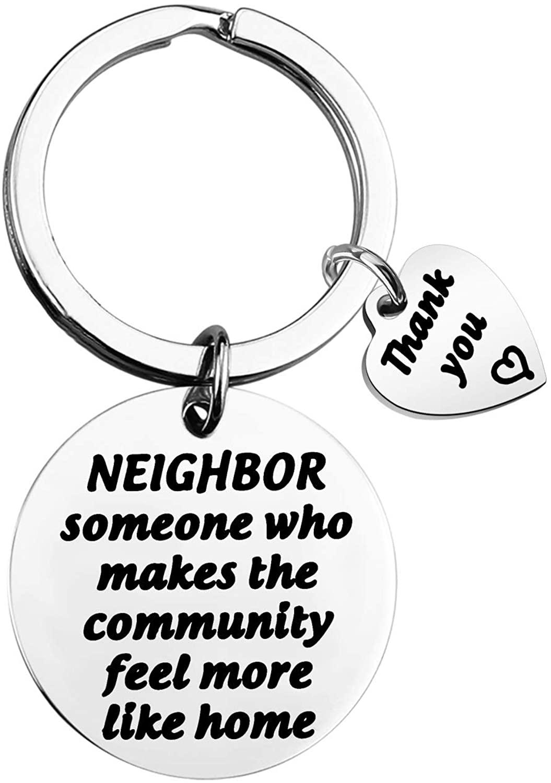 MAOFAED Neighbor Gift Neighbor Thank You Gift Neighbor Someone Who Makes The Community Feel Like Home Neighbor Leaving Away Gift