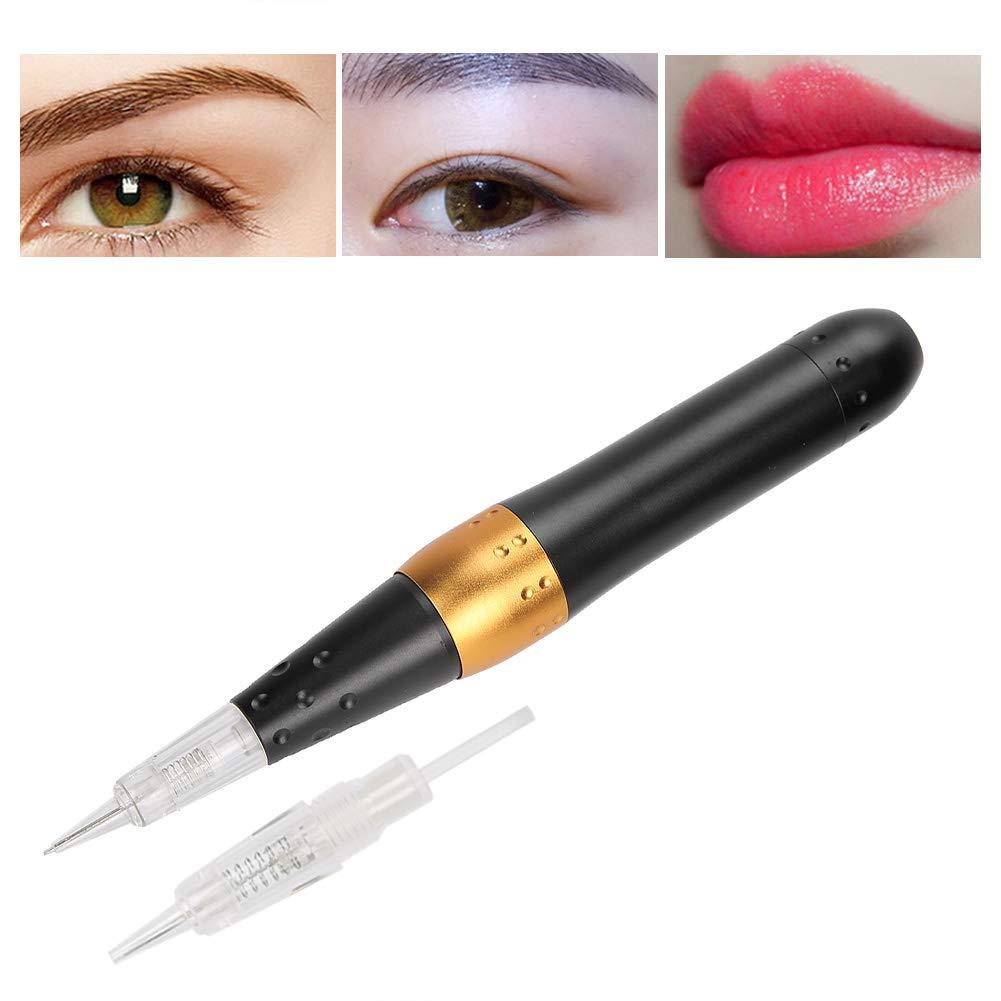 Eyebrow Tattoo Set, Make up Tattoo Pen, Tattoo Pen Kit Eyebrow Tattoo Pens Semipermanent Tattoo Machine Microblading Eyebrow Lips Eyeliner Tattoo Machine(2#)
