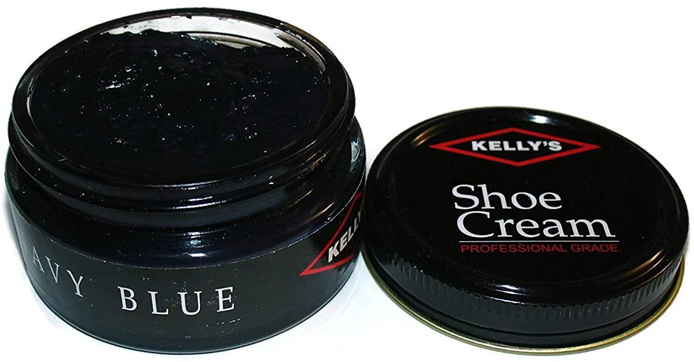 Kellys Shoe Cream - Professional Shoe Polish - 1.5 oz - Multiple Colors Available