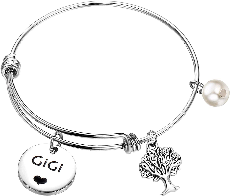 MAOFAED Grandma Gift Gigi Gift Grandmother Gift Gigi Bracelet New Grandmother Gift