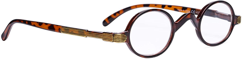 Vintage Round Reading Glasses Professor Readers