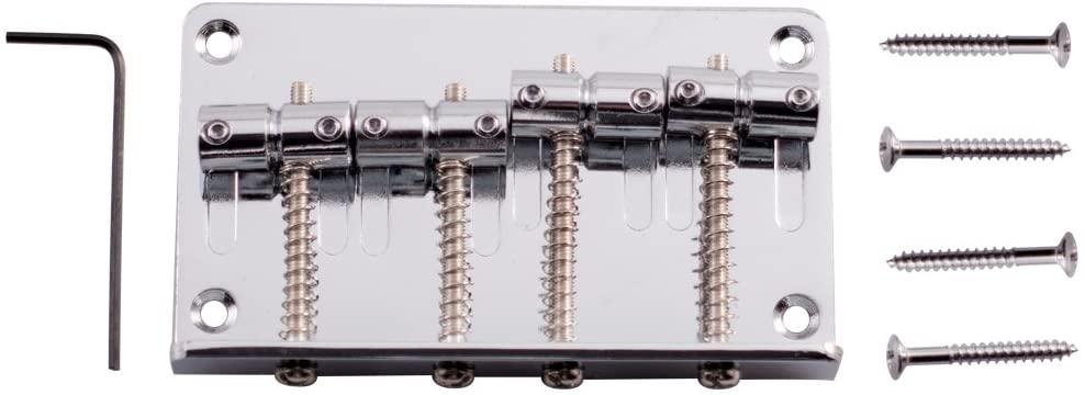 Seismic Audio Bass Guitar Bridge (SAGA20)