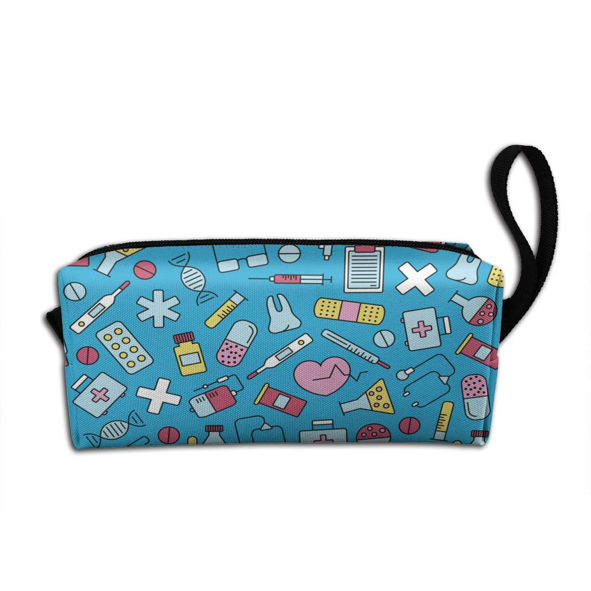 Nurse Equipment Makeup Bag Adorable Travel Cosmetic Pouch Toiletry Organizer Case Gift for Women