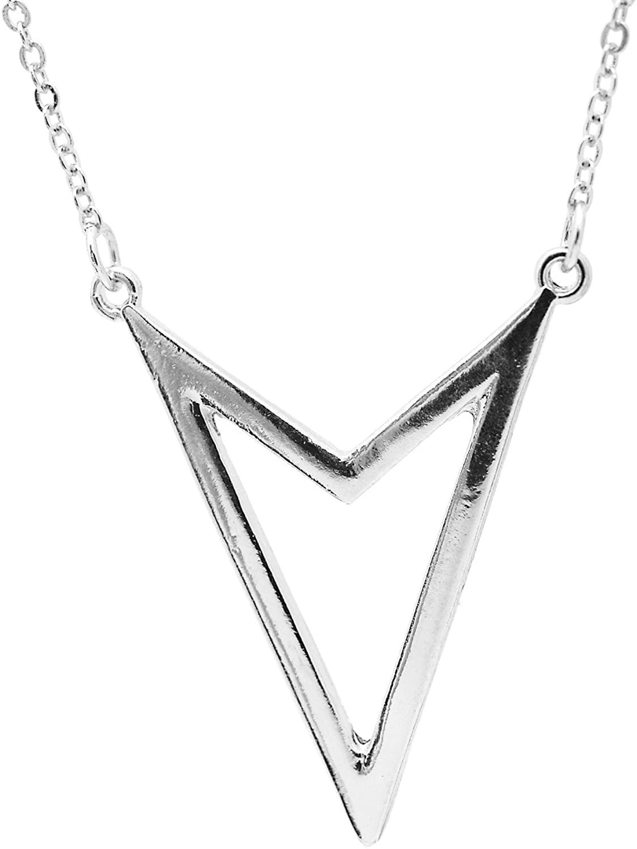 chelseachicNYC Simple Open Arrow Head Necklace