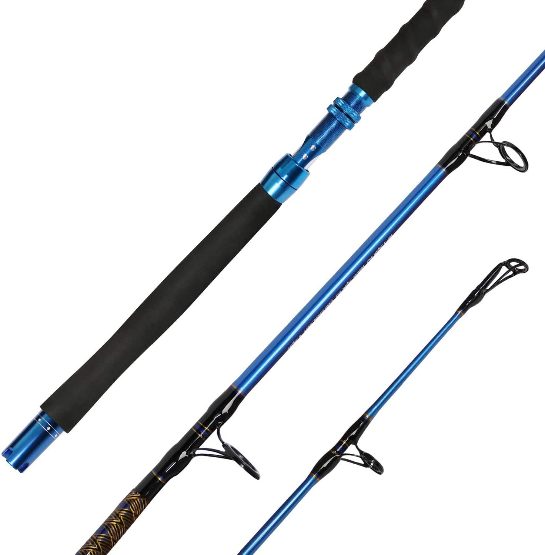 Fiblink Saltwater 1-Piece Jigging Jig Spinning Rod
