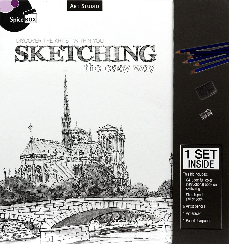Spice Box Art Studio: Sketching