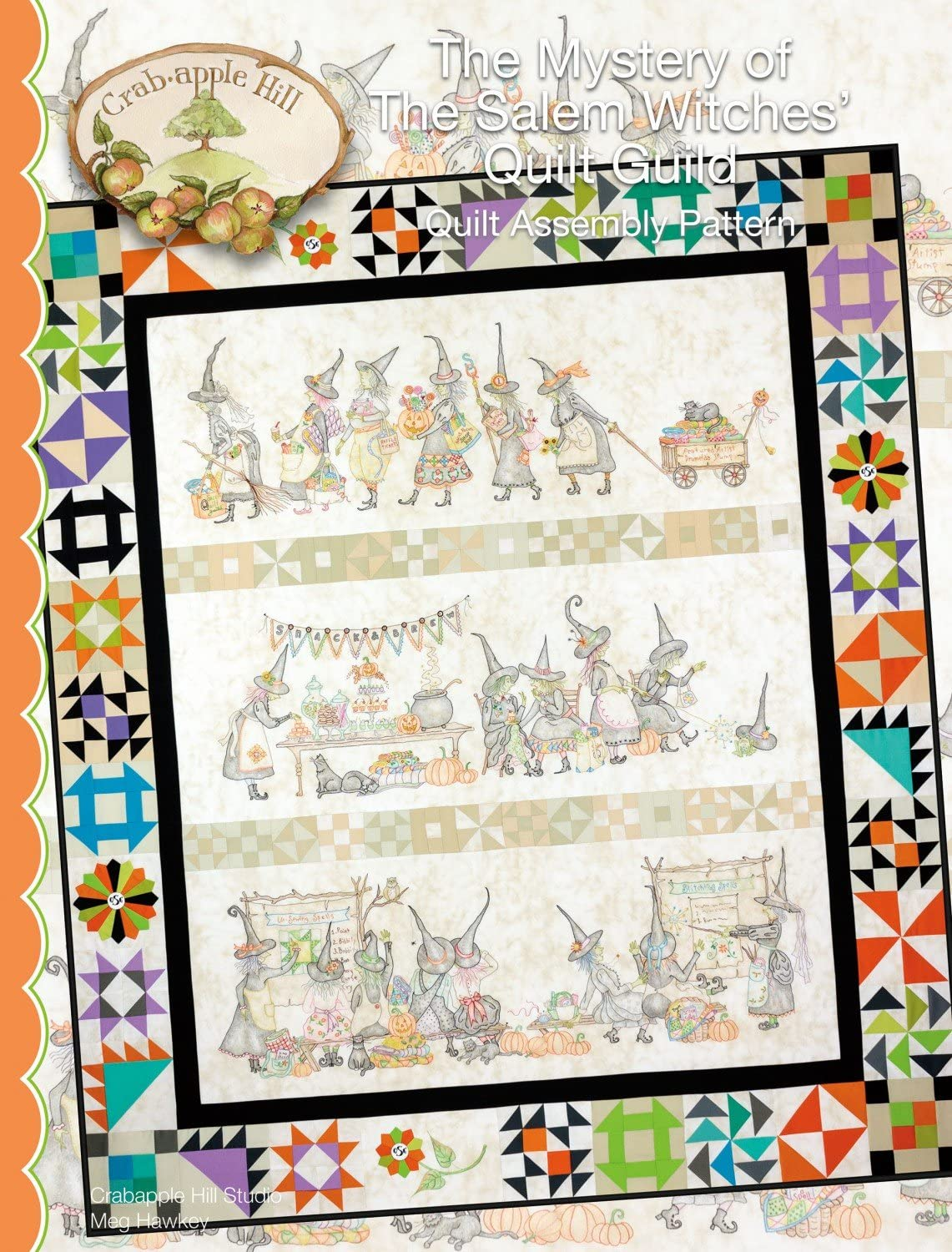 The Mystery of The Salem Witches Quilt Guild