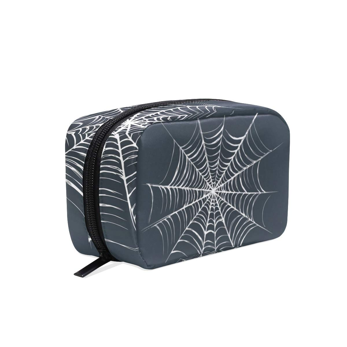 Womens Makeup Cosmetic Bag Halloween Pattern Makeup Pouch for Travel Cosmetic Pouch Purse(904a)