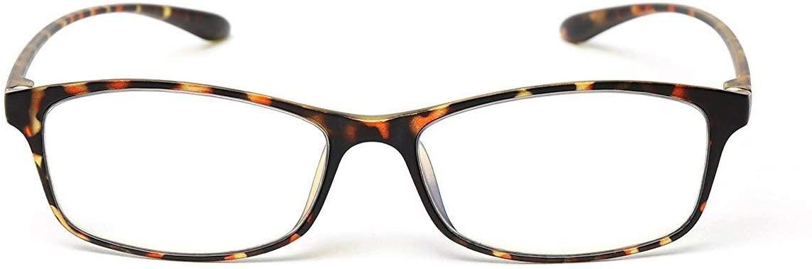 MIDI Colors Blue Light Blocking Reading Glasses for Women (M-209) Blue Light Filter Readers 1.0 1.5 2.0 2.5 3.0 (+2.50, Brown Demi)(m209c10250)