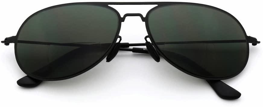 MIDI Bifocal Reading Glasses & Sunglasses for Men and Women   Aviator Style   +1.5 +2.5