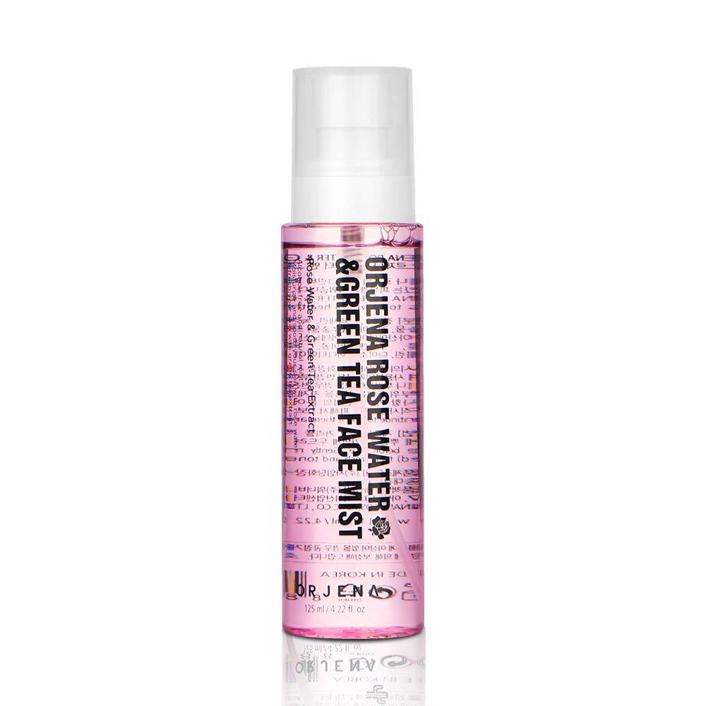 ORJENA Rosewater & Green Tea Face Mist Face Spray_Korean Skin Care K Beauty