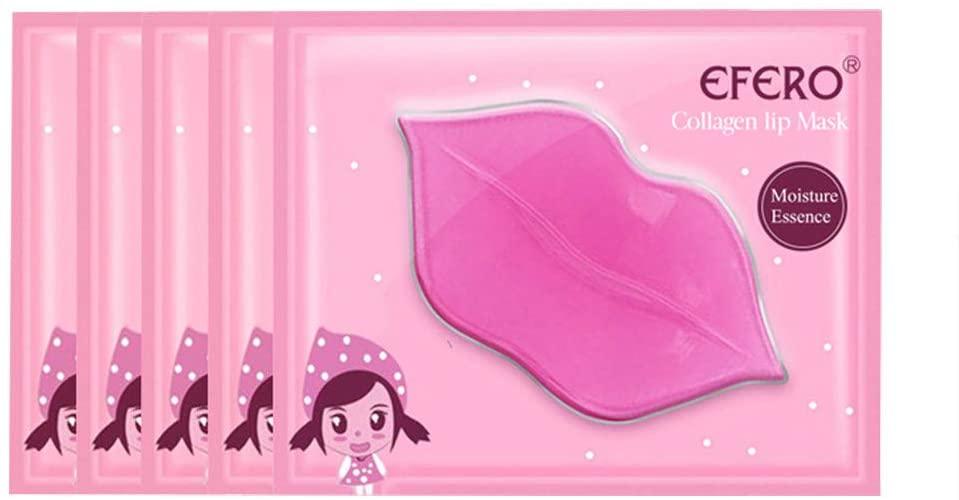 Fineday Lip Care, Crystal Collagen Protein Lip Skin Care Lip Moisturizing 5PCS/Set 10ML, Personal Skin Care, Health and Beauty HotSales (Multicolor)
