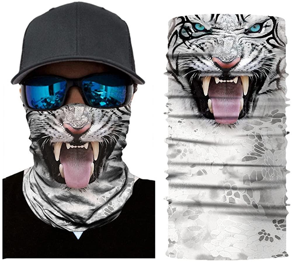 1PC Scarf Adults Reusable Breathable Headband Fashion Cycling Funny Neck Motorcycle Washable Cloth Face_Mask Bandanas