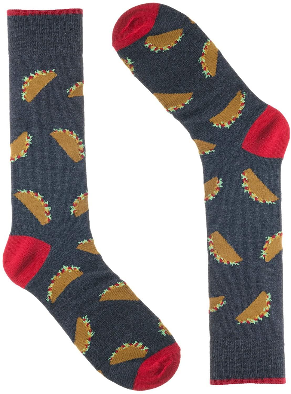 Men's Fun Dress Socks - Saint Yuma - Cotton