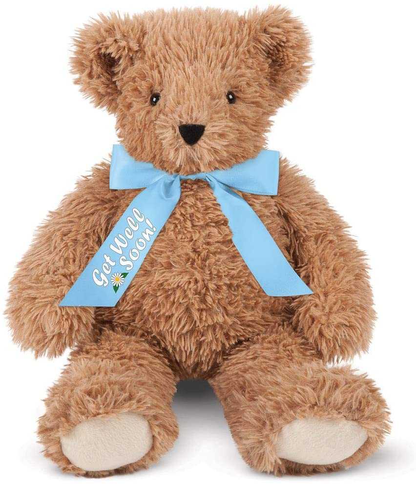 Vermont Teddy Bear Get Well - Post Surgery Gifts, 18 Inch, Super Soft