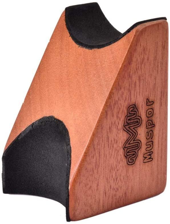 Healifty Guitar Neck Rest Neck Pillow String Instrument Neck Support Neck Holder Guitar Wooden Neck Bracket for Guitar Bass